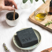 rye botanicals charcoal detox handmade natural soap