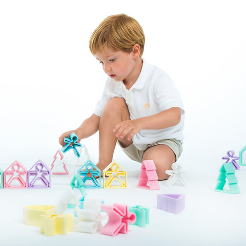 Dena Silicone House & Kid 2 Piece Set