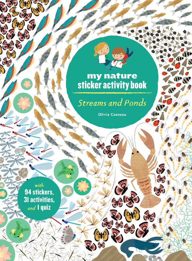streams and ponds sticker activity book
