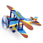 Studio Roof 3D carton Cool Classic Biplane