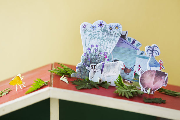 Tarjeta desplegable Studio Roof Tiny Tale - Little Farm