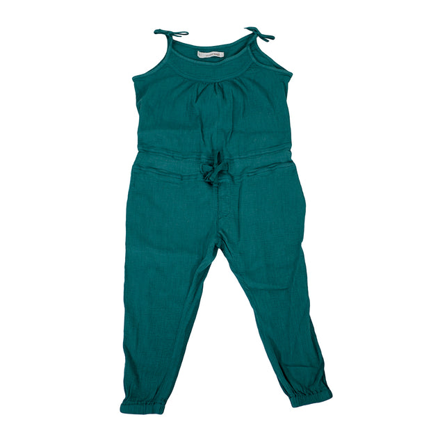 sunchild girls carbo peacock blue jumpsuit