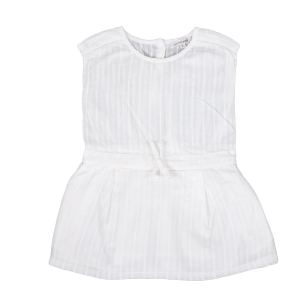 SUNCHILD Girls Montebello white Sleeveless summer Dress