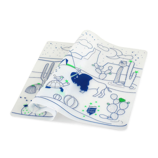 SuperPetit Tablemat Set - Cactus Valley
