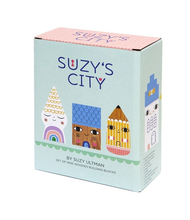 Petit Monkey Suzy's City wooden figurines