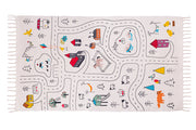 Kekoni Little Explorers kids cotton play mat nursery rug
