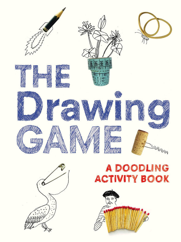 the drawing game doodling activity book