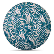 The Nice Fleet Round Floating Mattress Bahia green leaf pattern