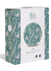 The Nice Fleet Round Floating Mattress Bahia green leaf pattern package