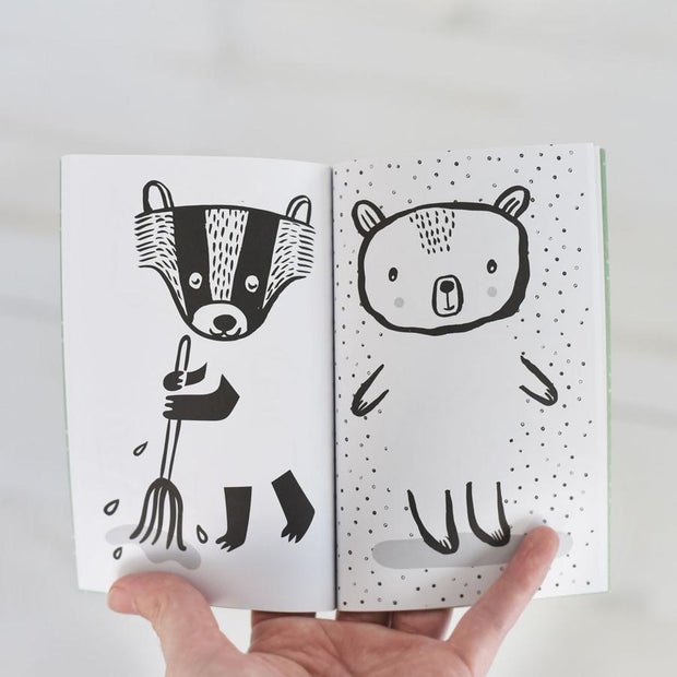 Wee Gallery 32 Ways to Dress Activity Book - Nordic Animals