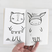 Wee Gallery 32 Ways to Dress Activity Book - Baby Animals