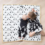 wee gallery organic cotton baby playmat
