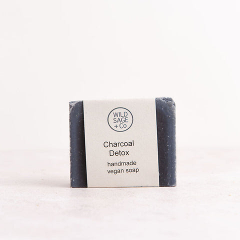 Wild Sage & Co Charcoal Detox Soap Bar