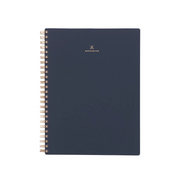 appointed workbook in oxford blue
