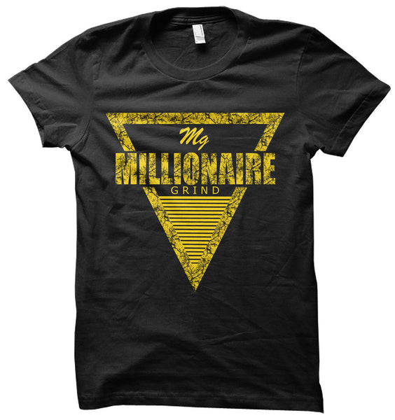 Pyramid Tee - (Black / Yellow)