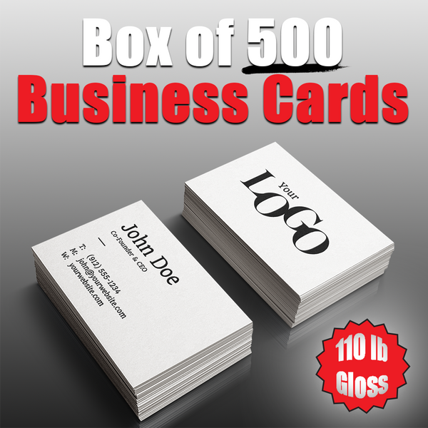 Box of 500 Business Cards