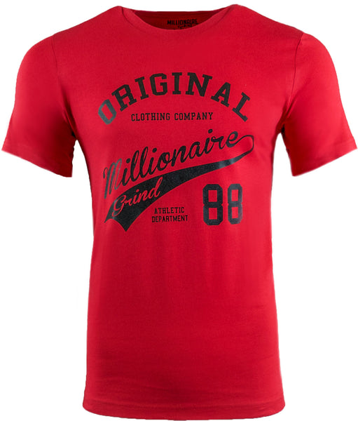 Original MG Tee - (Red / Black)