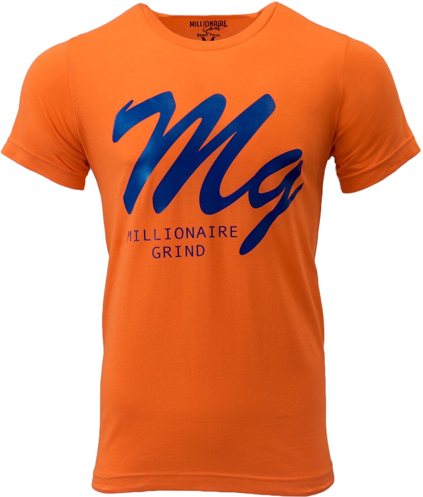 MG Logo Tee - (Orange / Royal)