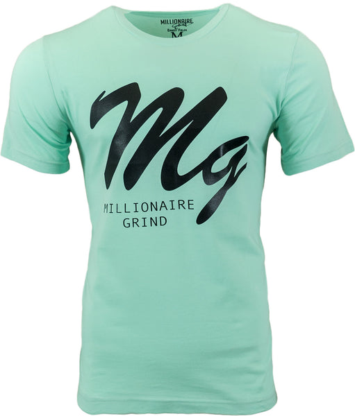 MG Logo Tee - (Mint / Black)