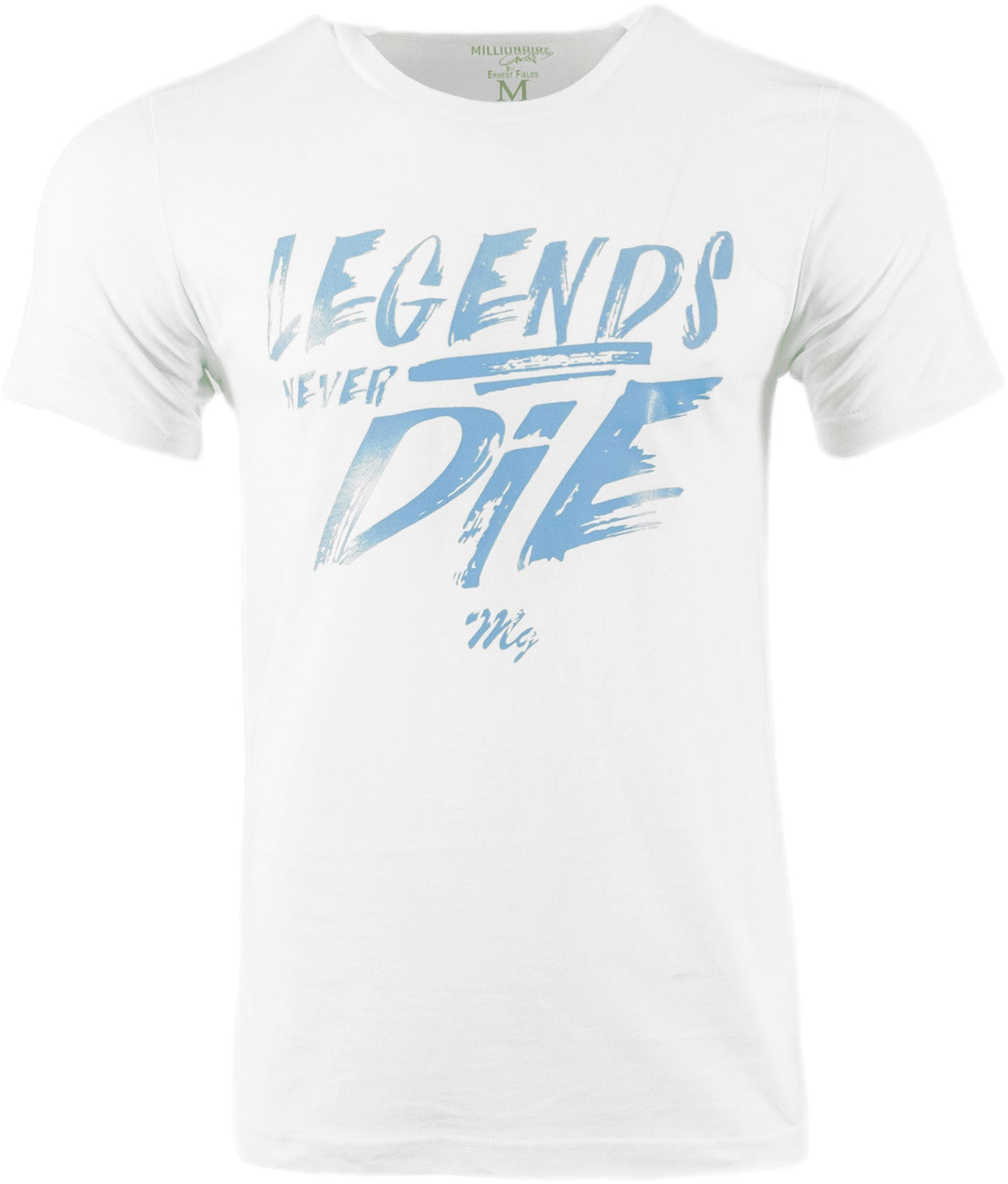 Legends Tee - (White / Carolina Blue)