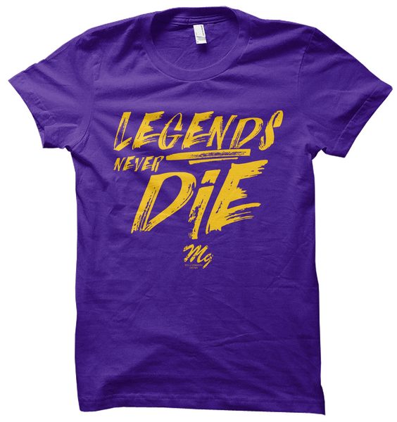 Legends Never Die - T Shirt & Hoodie (Limited Edition)