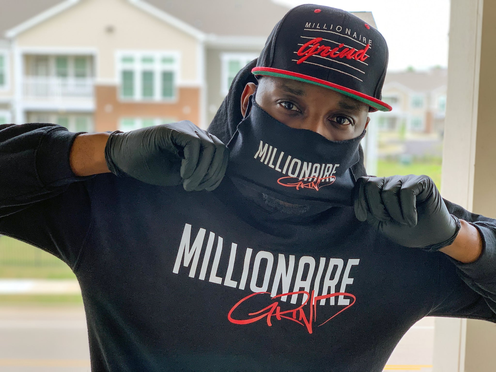 Millionaire Grind - Daily Face Cover