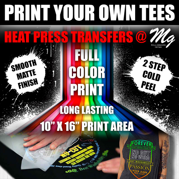 Heat Press Transfers - Print Your Own Tees - PYOT