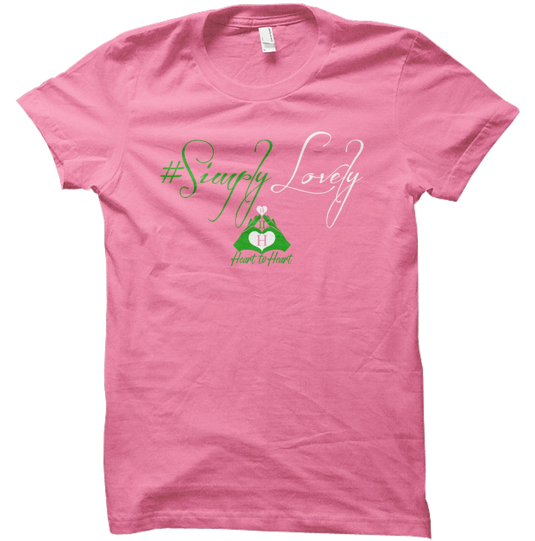 Simply Lovely Women's Fit Tee - (2 Color Options)