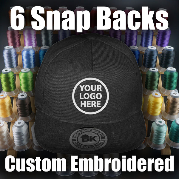 Custom Snapback Embroidery