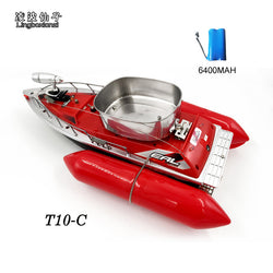 If you do any fishing you are going to love this toy.  It throws out bait to attract fish (2017 Newest T10-C mini fast electric rc fishing bait boat 280M Remote Fish Finder fishing boat Lure boat RC boat 5Hours/6400MAH)