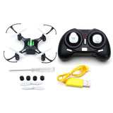 This little flying toy that fits in your had is a big seller. (Eachine H8 Mini Headless RC Helicopter Mode 2.4G 4CH 6 Axle Quadcopter RTF Remote Control Toy MODE2(Left Control))