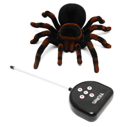 High Quality Remote Control 11'' 4CH Realistic Spider Scary Toy Prank Holiday Gift Model Hot Sale