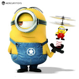 One look at this toy and you know it's fun, fun, fun.  And right now it is priced to sell fast which it is.  (Induction Flying Toys Despicable Me5 Minions Remote Control RC Helicopter floating toys kids Flying toys)