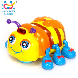 Electric Beetle Toys.  Electric Toy Ladybug with Music & Light Interactive Child Educational Toy
