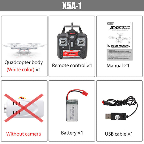 A very popular Drone! (Original Syma X5A-1 (Not X5A) Drone 2.4G 4CH RC Helicopter Quadcopter with No Camera,Aircraft Dron for Novice)