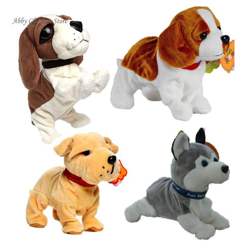 Pet Robot Dogs Bark Stand Walk Toy Dogs For Children Christmas