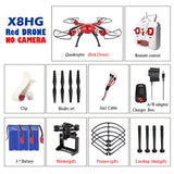 Very cool looking drone and a lot of fun.  (Remote Control Drone NO Camera 2.4G 6Axis RTF RC Helicopter Quadcopter Can Fit)