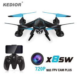 A high quality drone WITH CAMERA.  WOW Yes it has a camea.   (X8SW Wifi Fpv Drone with Camera HD Rc Helicopter Quadcopter 2.4G Professional Dron 720P Flying Camera Helicopter UAV For Sale)