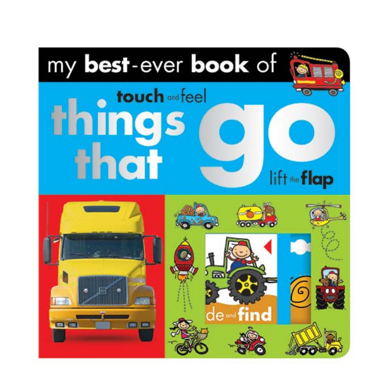 Libro My Best Ever Book Of Things That Go - babycentro-com - Make Believe Ideas