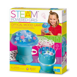 Optical Mood Lamp - Steam Powered Girls 4M - babycentro-com - 4M