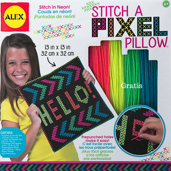 Stiich Pixel Pillow Alex