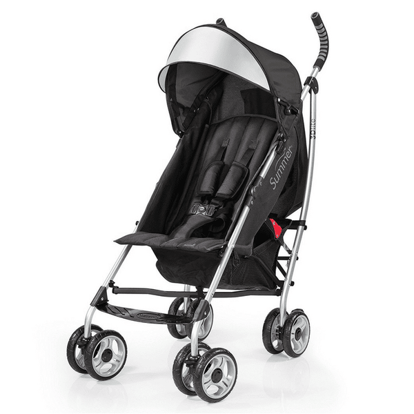 Coche Sombrilla 3D Lite Summer Infant Negro