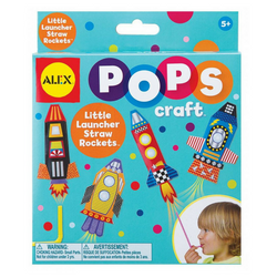 Cohetes con Pitillos POPS Craft Alex