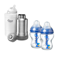 Combo Termo para Calentar + Teteros Anticolico Tommee Tippee - babycentro-com - Tommee Tippee