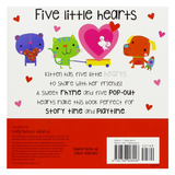 Libro Five Little Hearts - babycentro-com - Make Believe Ideas