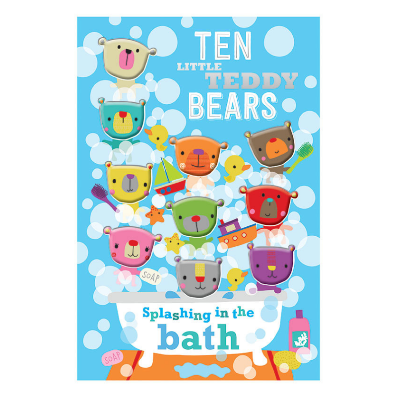 Libro Ten Little Teddy Bears - babycentro-com - Make Believe Ideas