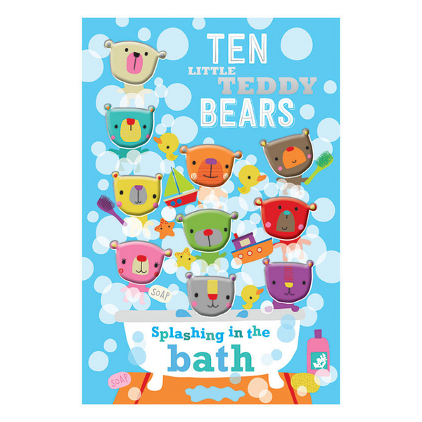 Libro Ten Little Teddy Bears