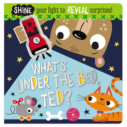 Libro What's Under the Bed, Ted? - babycentro-com - Make Believe Ideas