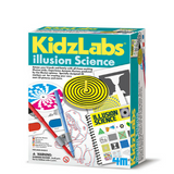 Experimento Illusion Science KidzLab 4M