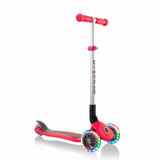 Patineta Primo Foldable Lights Globber Roja